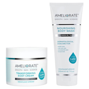AMELIORATE Cleanse and Moisturise Duo (Worth £38.00)