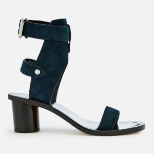 Isabel Marant Women's Jaeryn Heeled Sandals - Petrol