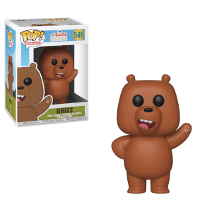 We Bare Bears - Bären wie wir - Grizz LTF Pop! Vinyl Figur