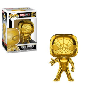 Marvel MS 10 Iron Spider Gold Chrome Funko Pop! Vinyl