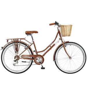 "Viking Belgravia Ladies Traditional Heritage 6sp Bike - Copper 26"" Wheel"