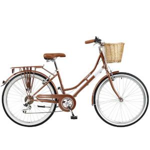 "Viking Belgravia Ladies Traditional Heritage 6sp Bike - Copper 26"" Wheel"