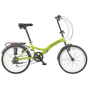 "Viking Metropolis 6sp Folding Bike - Green 20"" Wheel"