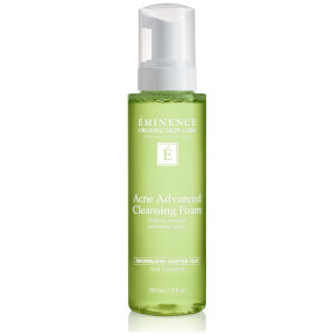 Eminence Organics Acne Advanced Cleansing Foam 5 oz