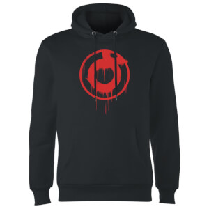 Ei8htball Spray Paint Logo Hoodie - Black
