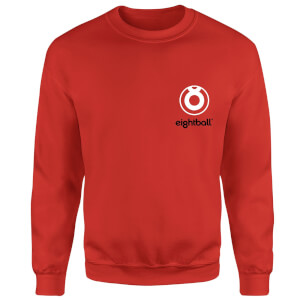 Ei8htball Pocket Logo Sweatshirt - Red