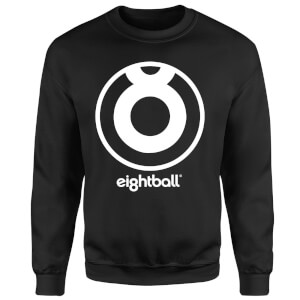 Ei8htball Large Eightball Logo Sweatshirt - Black