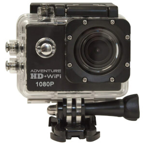Waspcam Cobra 5210 Adventure 1080p HD Wi-Fi Waterproof Action Camera - Black