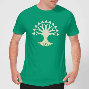 T-Shirt Homme Symbole de Selesnya - Magic The Gathering - Vert