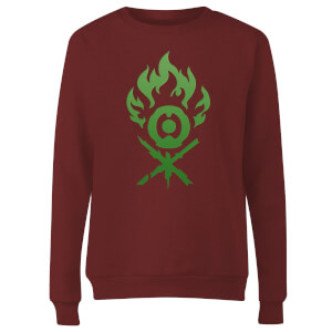 Sweat Femme Symbole de Gruul - Magic The Gathering - Bordeaux