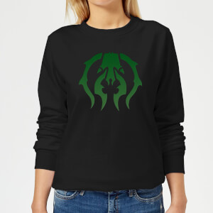 Sweat Femme Symbole de Golgari - Magic The Gathering - Noir