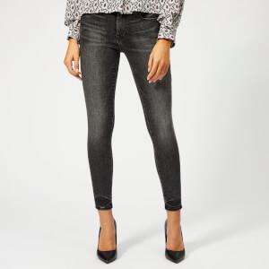Frame Women's Le Skinny de Jeanne Crop Jeans - Jackson Peak