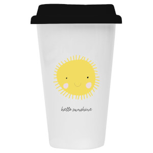 Hello Sunshine Ceramic Travel Mug