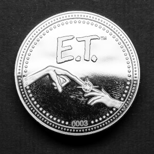 E.T. Collector's Limited Edition Coin: Silver Variant