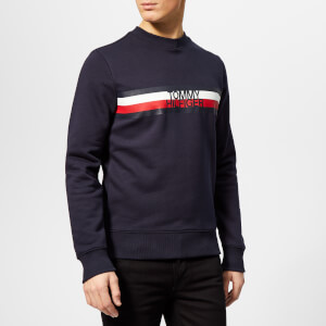 Tommy Hilfiger Men's Tommy Logo Sweatshirt - Navy