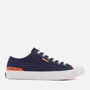 Superdry Men's Trophy Classic Low Trainers - Highland Navy