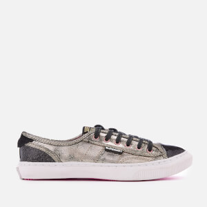Superdry Women's Low Pro Luxe Trainers - Distressed Gold
