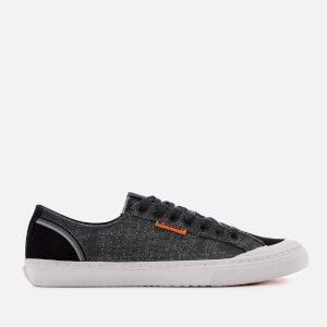Superdry Men's Retro Low Pro Trainers - Washed Black