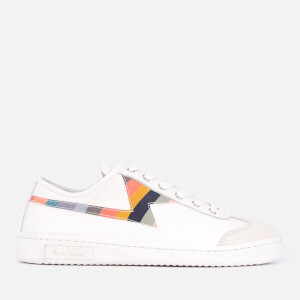 PS Paul Smith Women's Ziggy Leather Cupsole Trainers - White