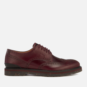 PS Paul Smith Men's Cruz Leather Brogues - Burgundy