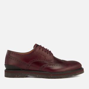PS Paul Smith Men's Cruz Leather Brogues - Burgundy
