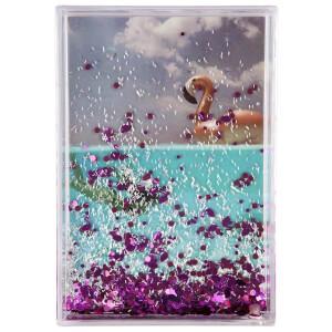 Sunnylife Glitter Picture Frame - Flamingo