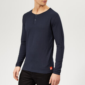 Superdry Men's Superdry Laundry Grandad Top - Laundry Navy