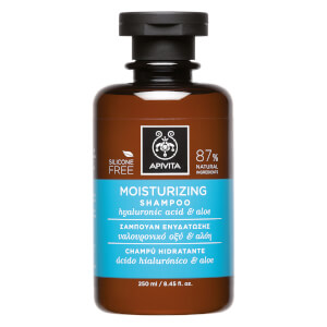APIVITA Holistic Hair Care Moisturizing -shampoo 250ml, Hyaluronic Acid & Aloe