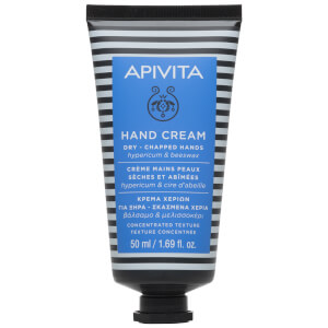 APIVITA Hand Care Hand Cream for Dry Chapped Hands - Hypericum & Beeswax 50 ml