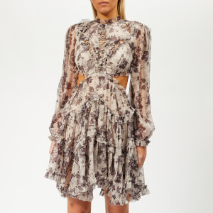 Zimmermann Women's Juno Floating Dress - Aged Batik