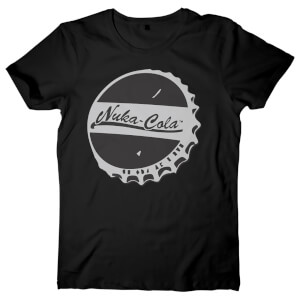 Fallout Men's Nuka Cola T-Shirt - Black