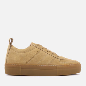 Whistles Women's Anna Low Top Trainers - Beige