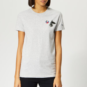 Champion X WOOD WOOD Women's Lyn Crew Neck T-Shirt - Grey