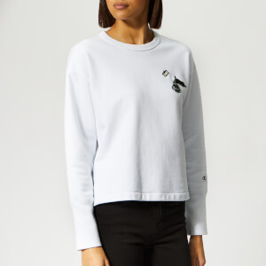 Champion X WOOD WOOD Women's Lucy Crew Neck Sweatshirt - White