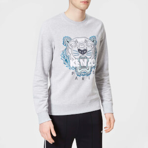 KENZO Men's Tiger Sweatshirt - Pale Grey