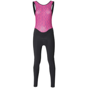 Santini Women's Coral Bib Tights - Black/Fuschia