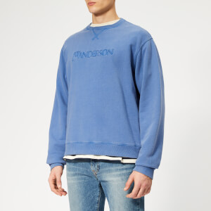 JW Anderson Men's JWA Logo Sweatshirt - China Blue