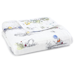 aden + anais Classic Dream Blanket Winnie the Pooh: Image 1