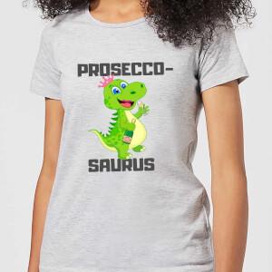 Be My Pretty Prosecco-Saurus Women's T-Shirt - Grey