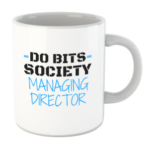 Big and Beautiful Do Bits Managing Director Mug