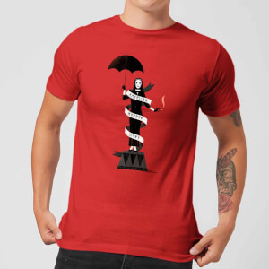 American Horror Story Umbrella Nun Men's T-Shirt - Red