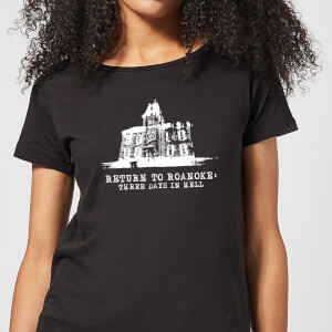 Camiseta American Horror Story Return To Roanoke - Mujer - Negro