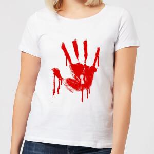 T-Shirt Femme Keyhole Handprint - American Horror Story - Blanc