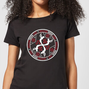 Camiseta American Horror Story Murder House Witchcraft Crest - Mujer - Negro