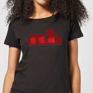 American Horror Story Some Doors Skyline Damen T-Shirt - Schwarz