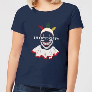 American Horror Story Twisty I'm A Good Clown Women's T-Shirt - Navy