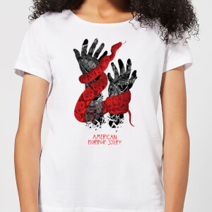 American Horror Story Snake Hands Damen T-Shirt - Weiß