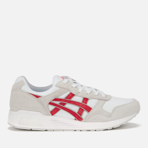 Asics Men's Lifestyle Lyte Trainers - White/Classic Red