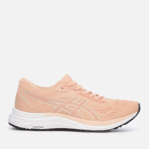 Asics Women's Running Gel-Excite 6 Trainers - Baked Pink/Silver