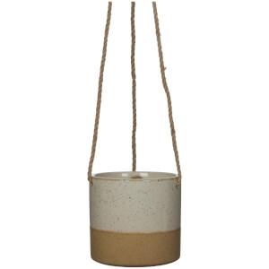 Lago Hanging Pot - White